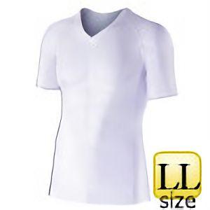 半袖Vネックシャツ JW−622 LL ホワイト