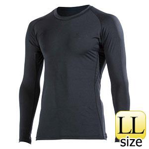 BTパワーストレッチ ロングスリーブシャツ JW−643 ブラック LL