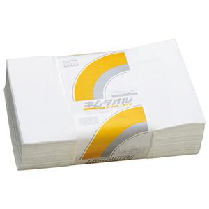 キムタオル(R)ホワイト 4プライ Lサイズ 50枚×12束/ケース