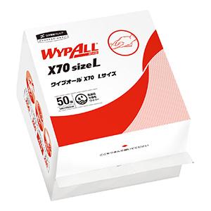 ワイプオールX70 6つ折り Lサイズ 60374