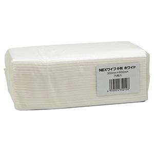カウンタークロス NEX(ネックス)ワイプ 小判 ホワイト 75枚×12袋