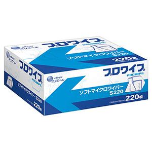 ソフトマイクロワイパー S220 220枚×72箱