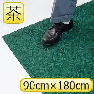 疲労防止ノーマッド印マット エキストラデューティ 茶 90cm×180cm