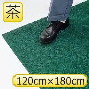 疲労防止ノーマッド印マット エキストラデューティ 茶 120cm×180cm