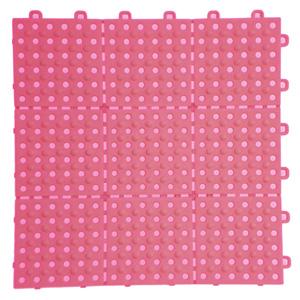 マット(床材) パレスチェッカー ピンク
