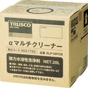 TRUSCO マルチクリーナー(強力洗浄剤)20L ALPMPCB 4050