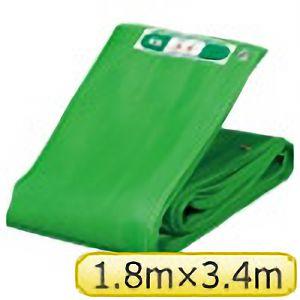 TRUSCO ソフトメッシュαシート 1.8m×3.4m 緑 GM1834A 3100GN