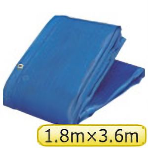 TRUSCO ソフトメッシュαシート 1.8m×3.6m 青 GM1836A 3100B