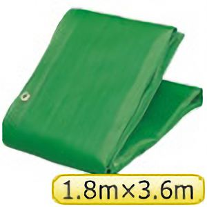 TRUSCO ソフトメッシュαシート 1.8m×3.6m 緑 GM1836A 3100GN