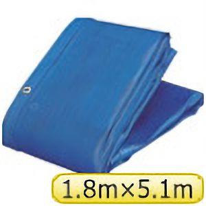 TRUSCO ソフトメッシュαシート 1.8m×5.1m 青 GM1851A 3100B