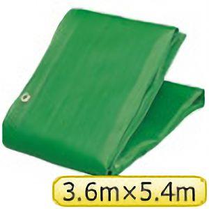 TRUSCO ソフトメッシュαシート 3.6m×5.4m 緑 GM3654A 3100GN