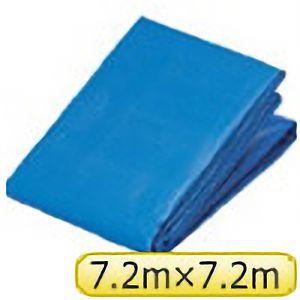 TRUSCO ブルーターピーシート寸法7.2×7.2M TP7272 3100