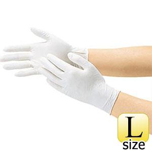 TRUSCO 使い捨て天然ゴム極薄手袋L DPM5498 8539L