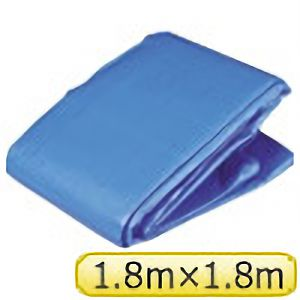TRUSCO ブルーシートα3000寸法1.8×1.8M BSA1818 3100