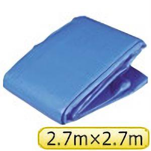 TRUSCO ブルーシートα3000寸法2.7×2.7M BSA2727 3100