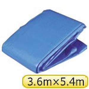 TRUSCO ブルーシートα3000寸法3.6×5.4M BSA3654 3100