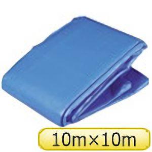 TRUSCO ブルーシートα3000寸法10.0×10.0M BSA1010 3100