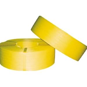 TRUSCO 手締用PPバンド15.5mm×1000m巻 黄 TPP155 3100Y