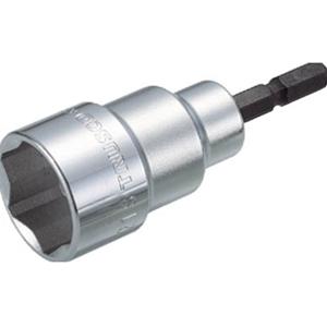 TRUSCO 電動ドライバーソケットショート17mm TEF17S 3100