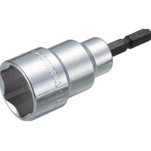 TRUSCO 電動ドライバーソケットショート21mm TEF21S 3100