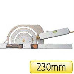 TRUSCO 丸ノコカッタ定規230mm TMK230 4500