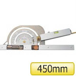 TRUSCO 丸ノコカッタ定規450mm TMK450 4500