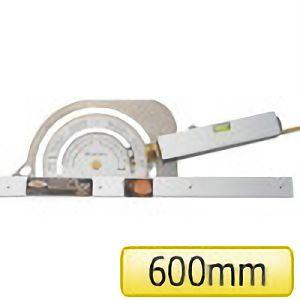 TRUSCO 丸ノコカッタ定規600mm TMK600 4500