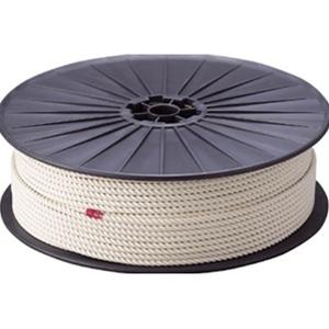 TRUSCO 綿ロープ6mm×200mボビン巻 R6200M 3100