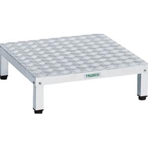 TRUSCO 高床式アルミ製ステップ TFSH0660AL 8000