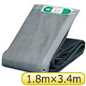 TRUSCO ソフトメッシュαシート 1.8mX3.4m グレー GM1834A 3100GY