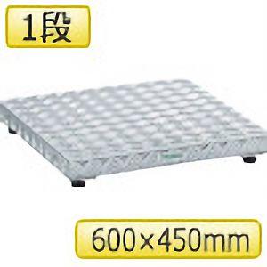 TRUSCO 低床用アルミ製ステップ 600mmX450mm TFS0645AL 8000