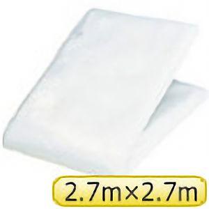 TRUSCO クリヤクロスシート2.7mX2.7m ホワイト CX2727 3100