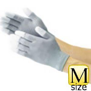 TRUSCO 静電気対策用手袋M(指先ウレタンコート) TGL2996M 8539