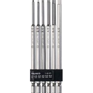 TRUSCO ロング六角ビットセット THBL6S 3100