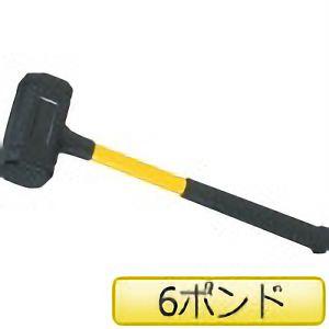 TRUSCO ウレタンハンマー(グラスファイバー柄)#6 TPU6 3100