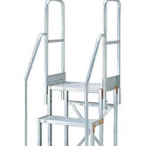 TRUSCO 作業台用階段両手すり TSF-51015用 TSFTE9 8000