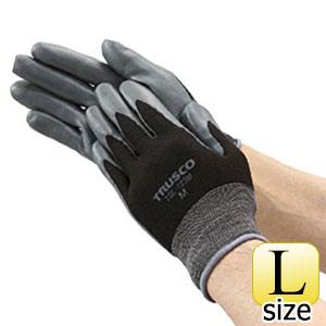 TRUSCO 組立検査用ニトリル手袋 Lサイズ TGW370L 8539