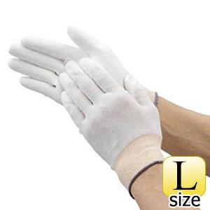 TRUSCO 簡易包装組立検査用ウレタンライト手袋 Lサイズ 10双 TUFGRL10P 8539