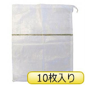 TRUSCO 土のう袋(しぼりロープ付) TDN−10P 10枚入り
