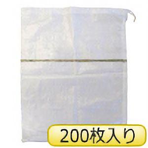 TRUSCO 土のう袋(しぼりロープ付) TDN−200P 200枚入り