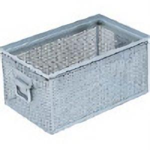 TRUSCO パンチングBOXメッキ仕上内寸398×246×189 VPB4 8000