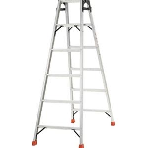 TRUSCO アルミ合金製はしご兼用脚立高さ1.11m THK120 8000