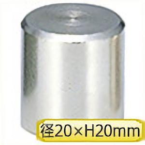 TRUSCO マグネットホルダ 吸着力55N 外径20mmX高さ20mm NH002R 4500