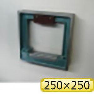 TRUSCO 角型精密水準器 A級 寸法250X250 感度0.02 TSLA2502 4500