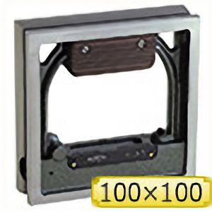 TRUSCO 角型精密水準器 B級 寸法100X100 感度0.02 TSLB1002 4500
