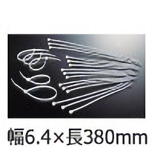 TRUSCO ケーブルタイ幅6.4mm×380mm最大結束φ108標準型 TRCV380S 3100