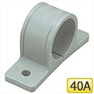 TRUSCO 樹脂サドルバンドVP管用40A TGS40VP 6600