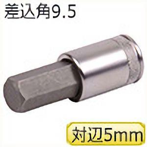 TRUSCO ヘキサゴンソケット 差込角9.5 対辺5mm TS305H 3100