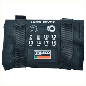 TRUSCO 切替式ラチェットコンビネーションレンチセット(ショートタイプ)8本 TGRW800RS 3100