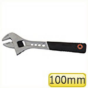 TRUSCO グリップ付モンキーレンチ 100mm TMWN100 3100